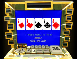 Play Aces and Faces Video Poker and other casino games at Win A Day Casino!