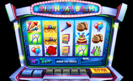 Play instant casino games such as Birthday Bash at WinADayCasino.eu!
