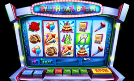 Play casino games such as Birthday Bash at WinADayCasino.eu!