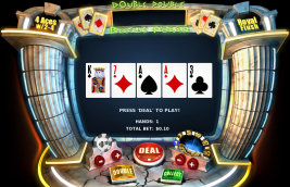 Play no download casino games such as Double Double Bonus Video Poker at WinADayCasino.eu!
