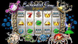Play no download slot games such as Enchanted Gems at WinADayCasino.eu!