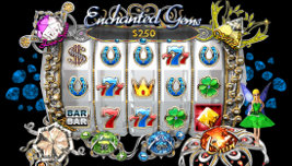 Play no download casino games such as Enchanted Gems at WinADayCasino.eu!