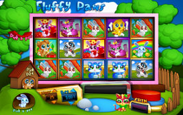 Play casino games such as Fluffy Paws Tricks at WinADayCasino.eu!