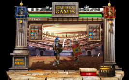 Play instant casino games such as Gladiator Games at WinADayCasino.eu!