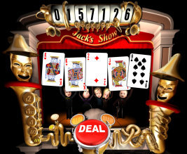 Play no download casino games such as Jacks' Show only at Win A Day Casino!