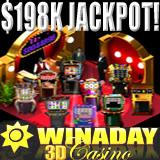 Play casino games at Win A Day