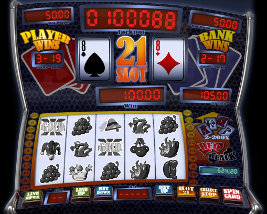 Play casino games such as Slot 21 at WinADayCasino.eu!