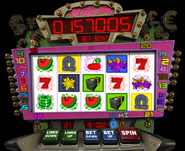 Play Vegas Mania slot machine and other casino games at Win A Day Casino!