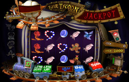 Play no download casino games such as Fair Tycoon only at Win A Day Casino!