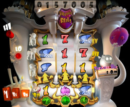 Play Heavenly Reels slot machine and other casino games at Win A Day Casino!