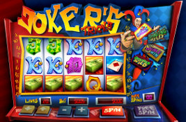 Play casino games such as Jokers Tricks at WinADayCasino.eu!