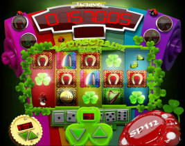 Play no download slot machine games such as Leprechaun Luck at WinADayCasino.eu!