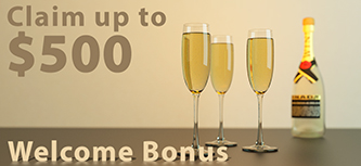 Win A Day Casino claim up 500 welcome bonus