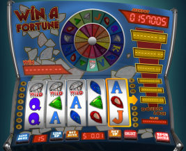 Play no download slot machine games such as Win A Fortune at WinADayCasino.eu!